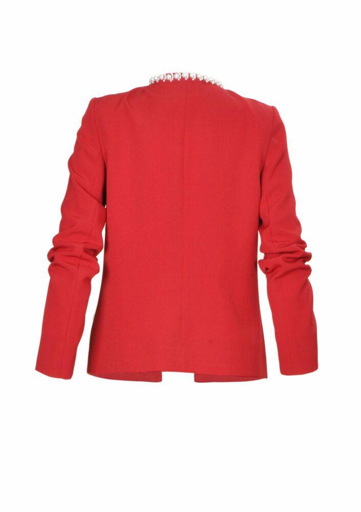 Áo jacket cho nữ màu đỏ