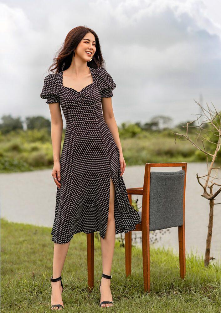 Đầm công sở Nam&Co phù hợp cho nhiều dáng người